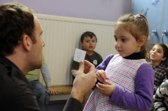 Le projet touche au total neuf classes dans deux écoles d'Anderlecht.