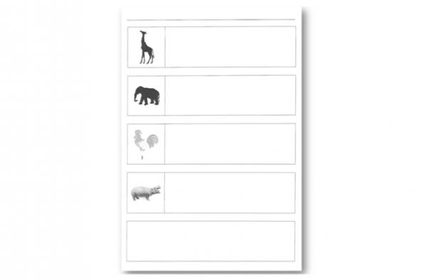 kit pedagogique Décolage - D3 - animaux