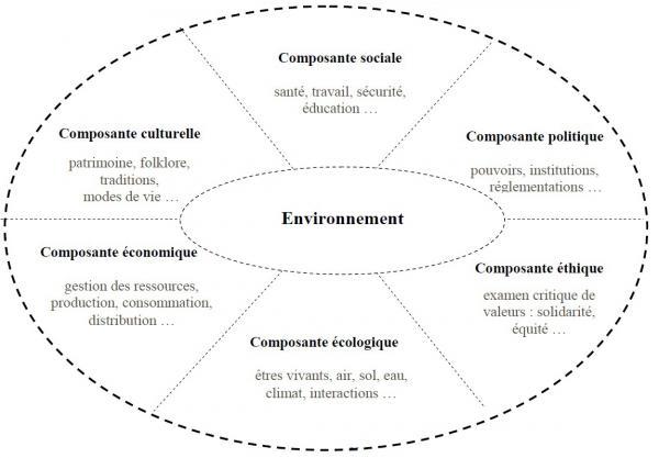 ErE DD - carte des composantes de l'environnement