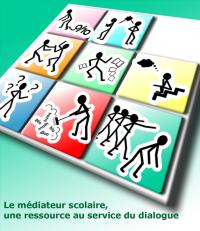 Logo médiation scolaire en région Bruxelles-Capitale - nouveau