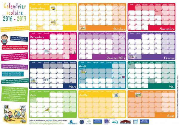 calendrier scolaire belge