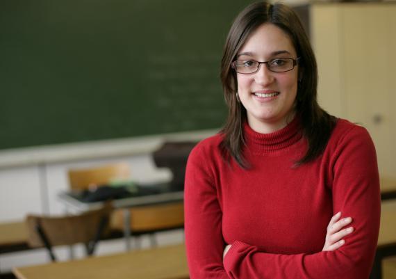 Doriane Gamme : « L'enseignant doit être l'oreille de l'élève, être humain, se bouger, s'impliquer à fond ».