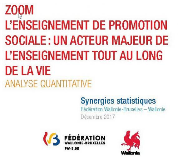 L'enseignement de promotion sociale -  Analyse quantitative