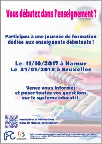 Formation pour les enseignants débutants - IFC 2017
