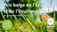 Prix belge de l'Energie et de l'Environnement 2018