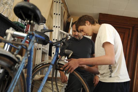 Avec les jeunes accueillis au Service d'accrochage scolaire, il faut travailler la motivation et l'estime de soi.