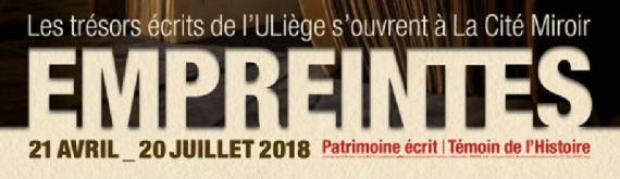 logo news - Exposition Empreintes 2018 - La Cité Miroir