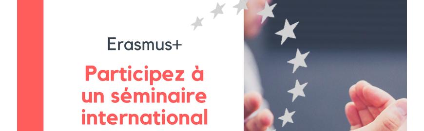 Logo News Erasmus+ séminaire international
