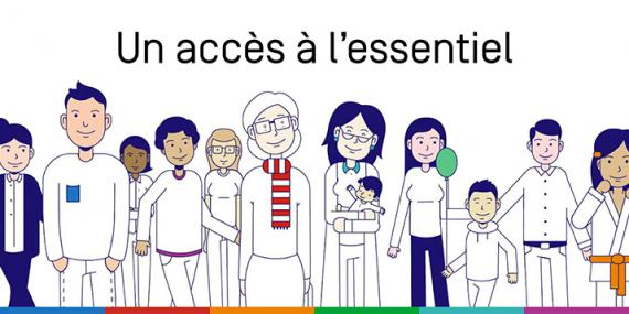 illustration news 'Un accès à l'essentiel'