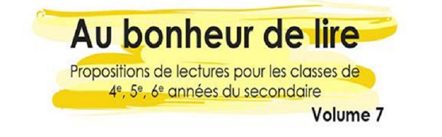 Logo news brochure Au Bonheur de lire