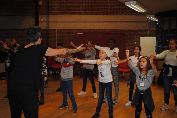 La première Classe résidentielle d'immersion artistique de cette année scolaire était consacrée à la musique.