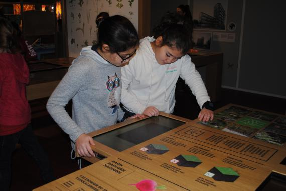 Le parcours interactif sensibilise les jeunes aux défis de l'environnement