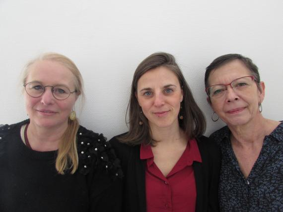 Catherine Bosmans, Florence Capitaine, Martine Chantraine, les moteurs du Projet Maternelle