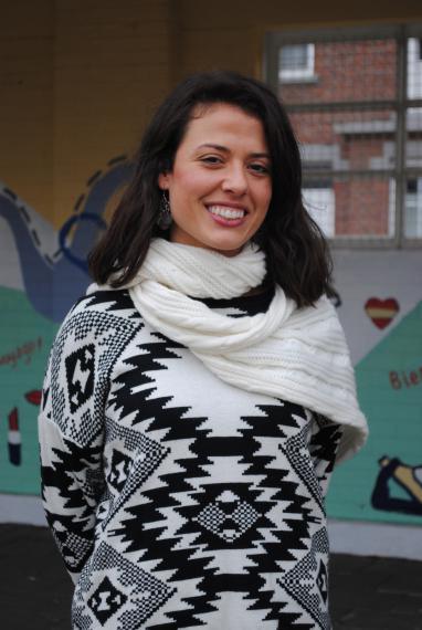 Éducatrice, Patricia Vega-Fernandez coordonne notamment le projet d'aménagement de la cour de récréation.