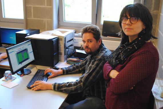 Portrait Anne-Marie Thoma et Mathieu Vanbockstael unissent leur efforts pour créer un jeu vidéo avec leurs élèves.