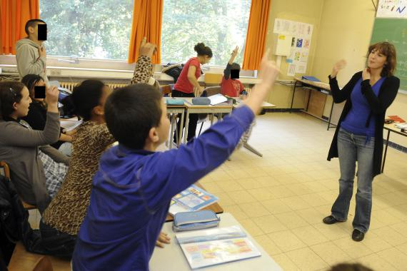Chaque école primaire ou secondaire pourra organiser un Daspa s'il elle accueille au moins 8 élèves primo-arrivants ou assimilés le 1er Octobre.