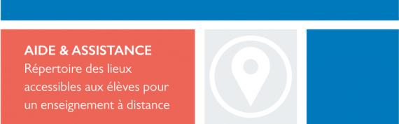 Répertoire des lieux accessibles aux élèves pour un enseignement à distance