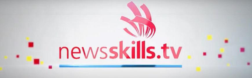 NewsSkills TV, la web TV de Worldskills Belgium : logo