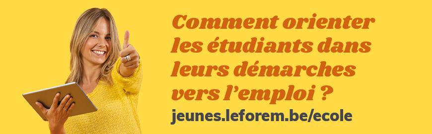 Site internet Jeunes Forem
