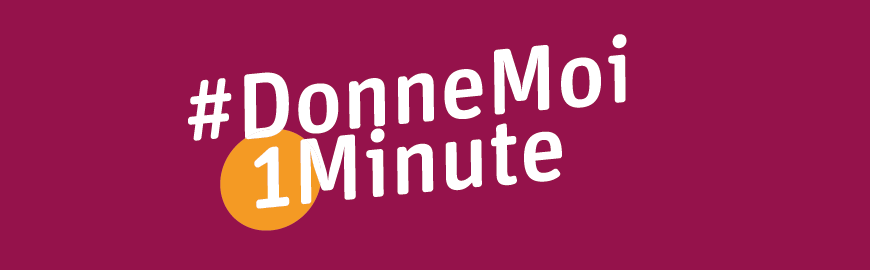 Le concours #DonneMoi1Minute s'adresse aux élèves du secondaire. L'objectif ? Créer  une vidéo d'une minute pour sensibiliser à la lutte contre l'homophobie.